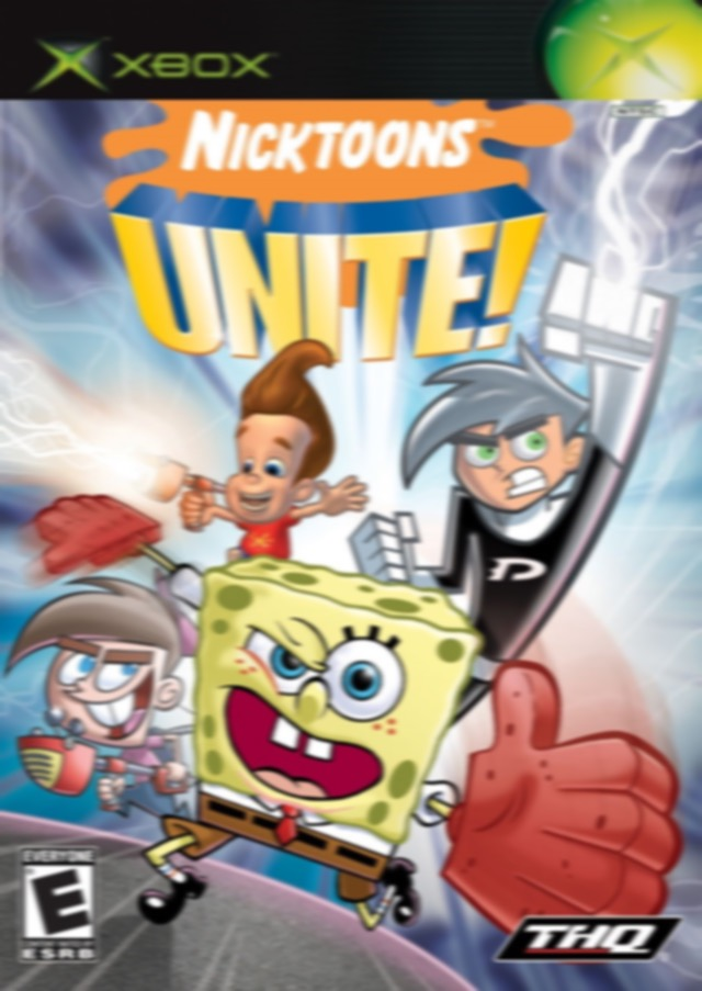 Nicktoons Unite! (Cancelled Xbox released)