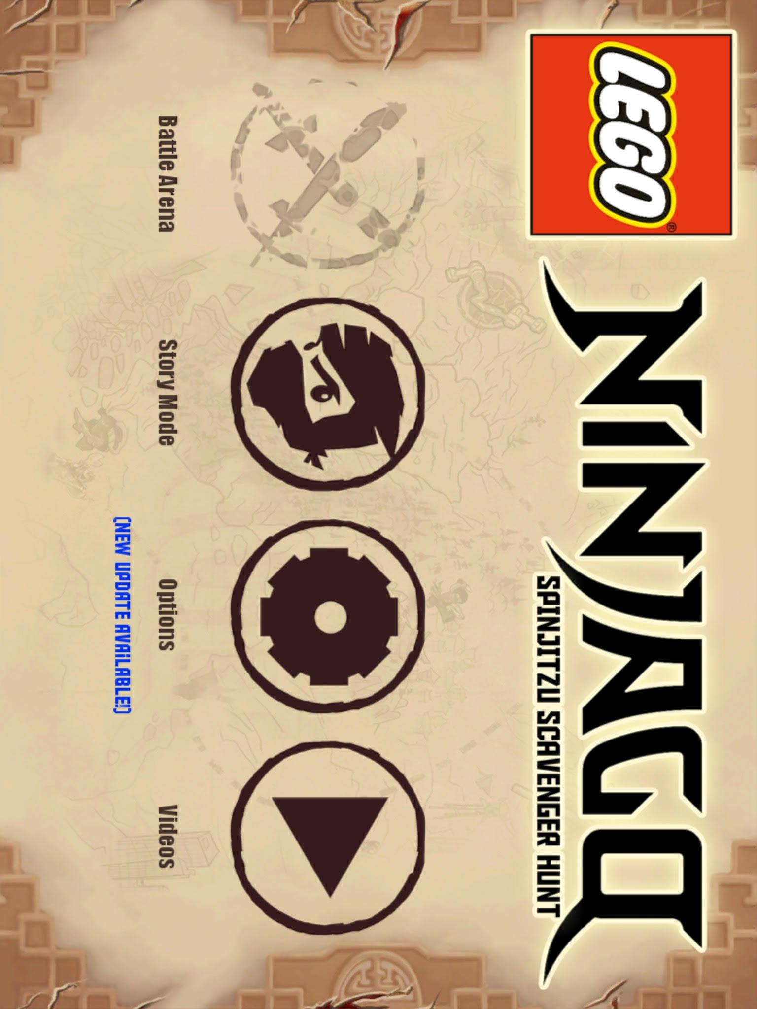 LEGO Ninjago: Spinjitzu Scavenger Hunt (Lost 2011 mobile game)