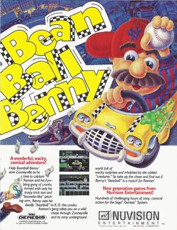 A advertisement for the game.