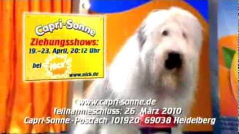 Lost Capri-Sun commercial from Germany in 2009 or 2010.