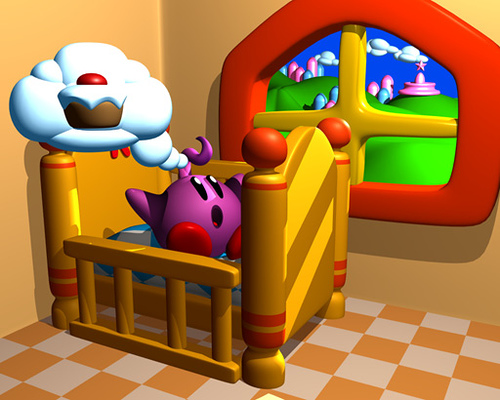 Kid Kirby (Cancelled SNES Game)