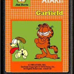 Garfield (Found Atari 2600 game, circa 1980's)