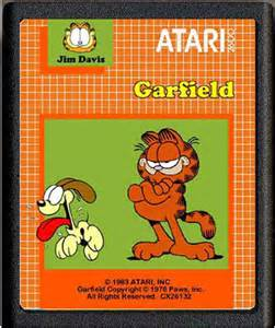 Garfield (Atari 2600 game, circa 1980's)