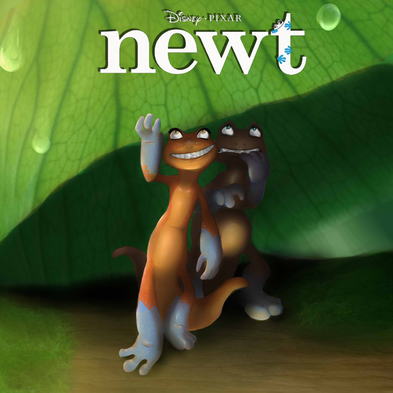 Newt (Unfinished Pixar Film)