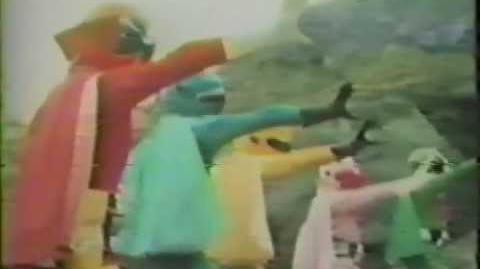 Star Rangers (Partially found Gorenger English Dub 1979)