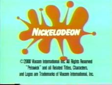 Early Airings of The Nickelodeon 'Weird Object' logo (2000-2001)