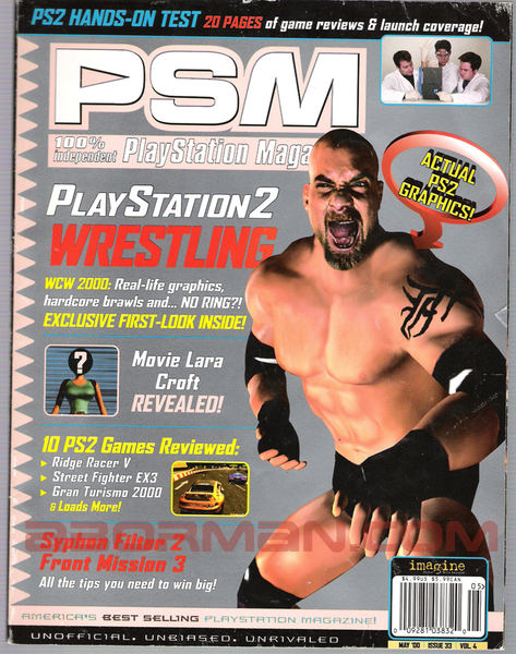 WCW 2000 (Unreleased 2000 PlayStation 2 Game)