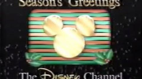 "Disney Channel ""Christmas Shape"" Ident"