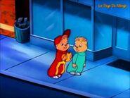 Extrait d'Alvin et les Chipmunks avec la voix de O Korol rôle Alvin