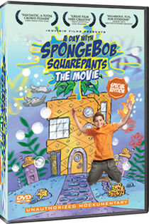 The DVD Cover for A Day With SpongeBob SquarePants