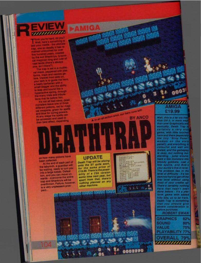Death Trap(lost Commodore 64 game)