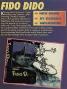 Fido Dido Genesis Early Box Art Mean Machines Sega Issue 10