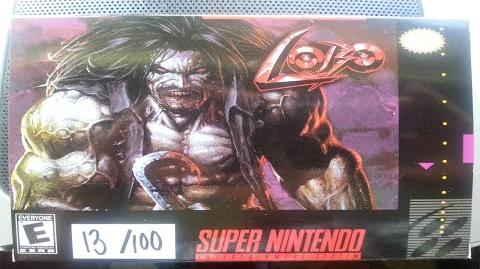 Lobo The Video Game for the SNES