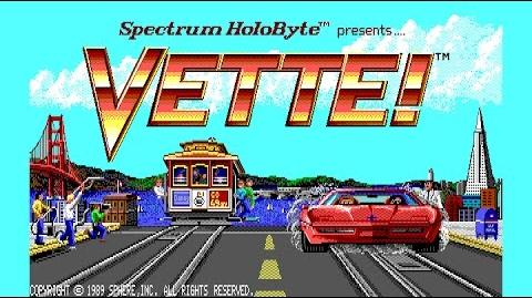 Vette! (unreleased Sega Genesis port)