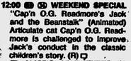 Capn O. G. Readmore Jack Ellensburg Daily Record April 15, 1988
