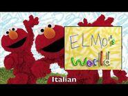 Elmo's World Opening Multilanguage Comparison
