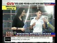 Fan inrait al Magdei in studio la OTV