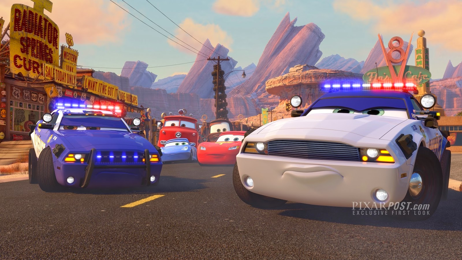 Cars Toons: To Protect and Serve (Lost Animated Short Film of Pixar Animated Series)