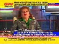 Elodia vorbeste in direct - ce caterinca lumee