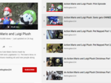 """Action Mario and Luigi Plush """"Sonic gets OWNED Part 1/2"""" (lost episode of YouTube web series, 2009)"""