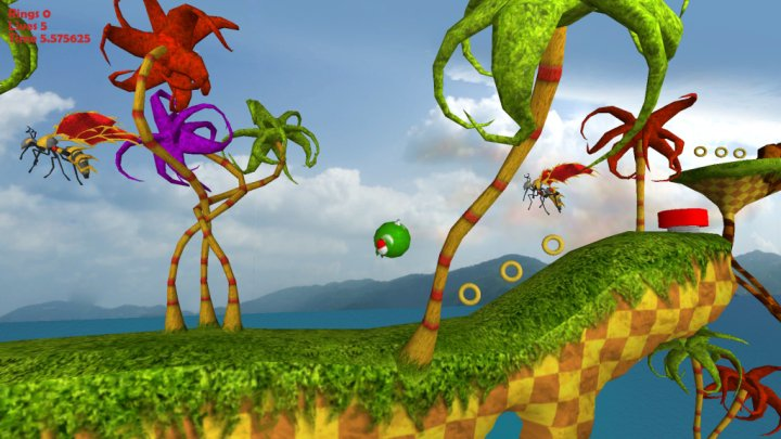 Needlemouse (Unreleased Platformer Video Game, 2009)