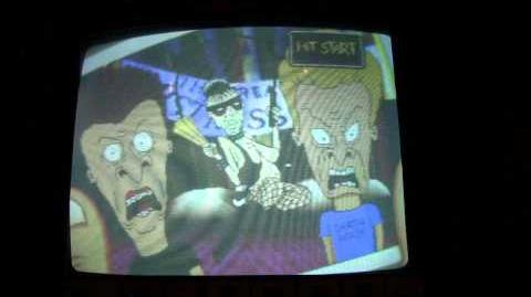 Beavis and Butt-Head (Cancelled 1996 Arcade Game)