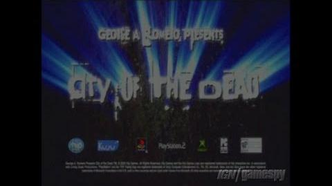 City of the Dead (Cancelled 2006 Video Game)