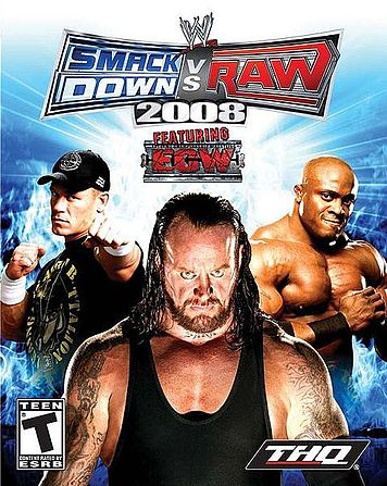WWE Smackdown vs Raw 2008 Chris Benoit Footage.