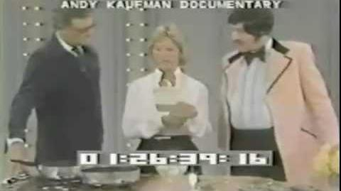 """Andy Kaufman's Tony Clifton """"Dinah!"""" Incident (1979) (Partially Lost)"""