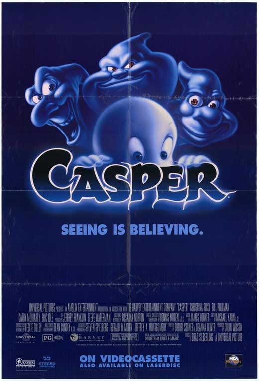 Casper Deleted Scenes (Lost Scenes From 1995 Film)