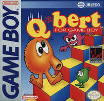 The cover of the GB Q*bert