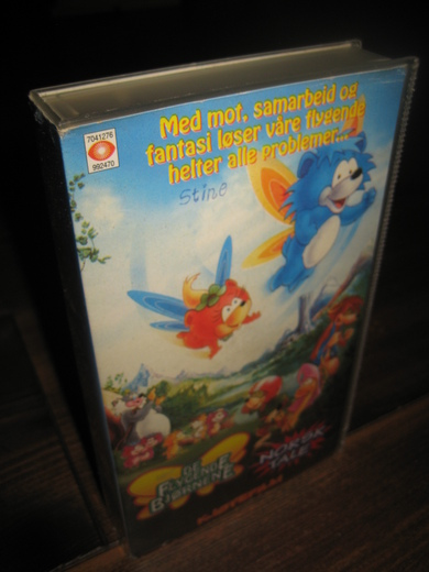 The Little Flying Bears (Lost Norwegian and Russian Dubs)
