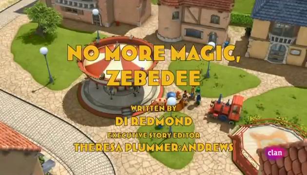 No More Magic, Zebedee (lost English dub episode)