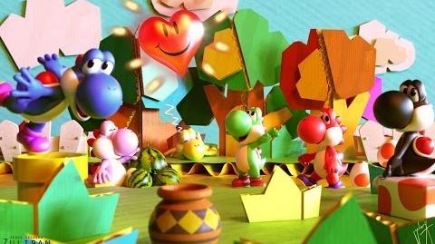 Yoshi's Story (Game Boy Advance Tech Demo)