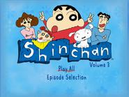 Shin Chan Volume 3 Main Menu