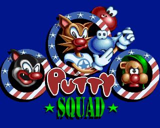 Putty Squad (Cancelled 1994 Sega Genesis/MS-DOS Ports)