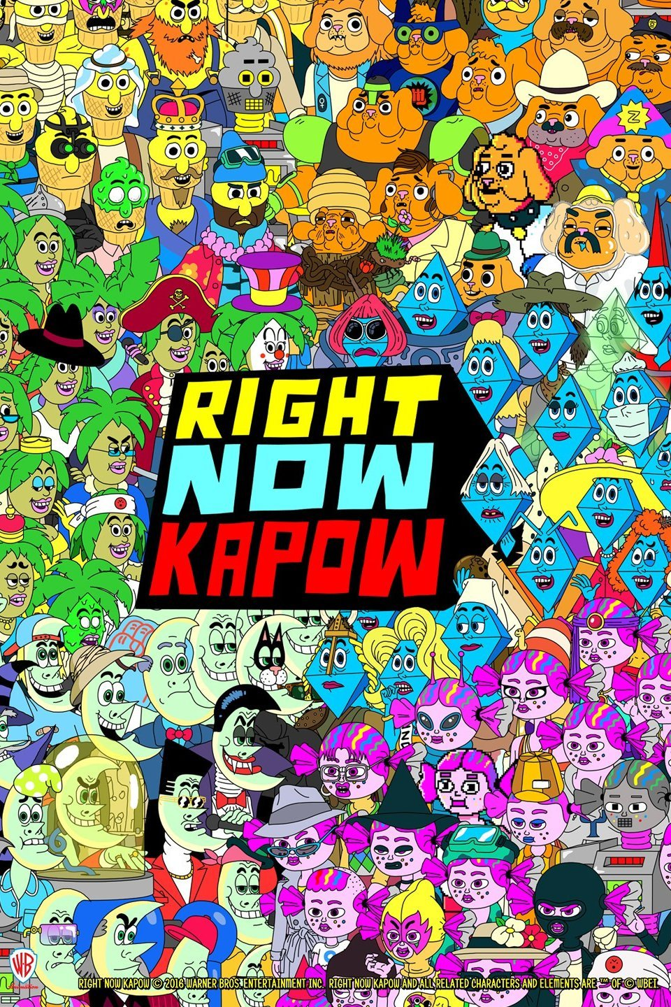 Right Now Kapow (Lost Original Pilot)