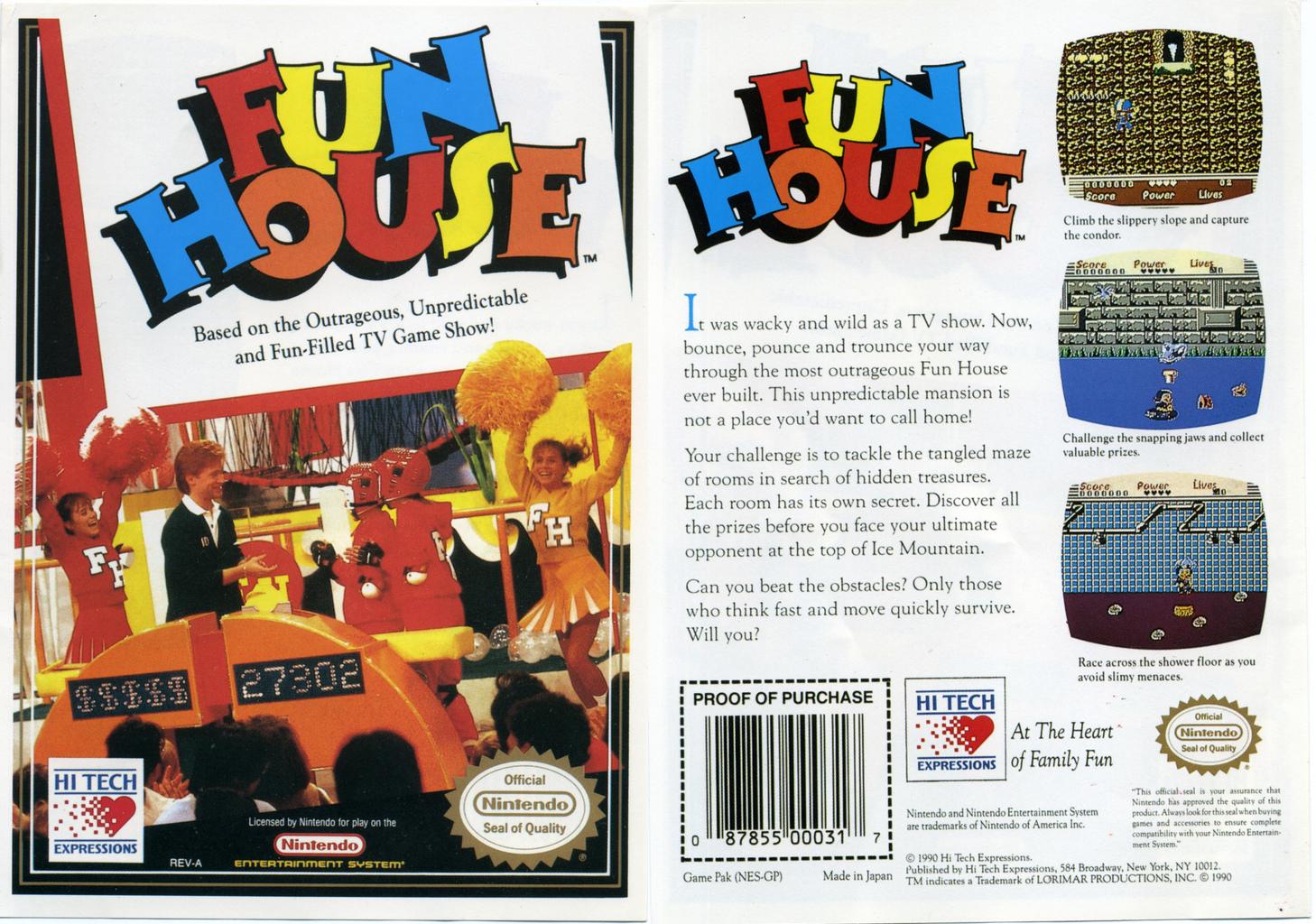 Fun House (NES Game; original unreleased version)