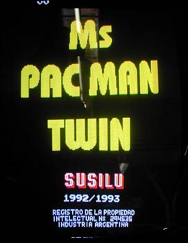 Ms. Pac-Man Twin(lost Ms. Pac-Man hack)