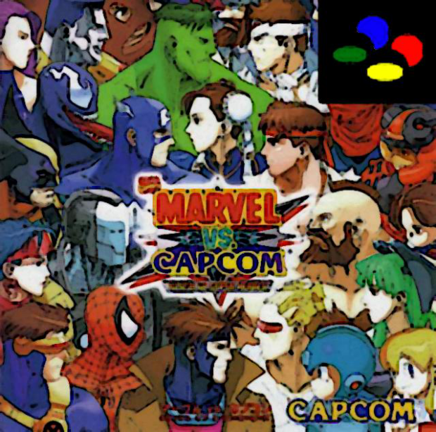 Marvel vs. Capcom Clash of the Super Nintendos (Partially Lost 2011 Soundtrack)