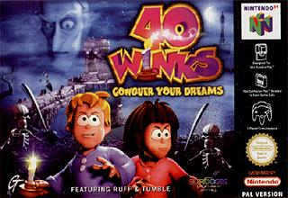40 Winks (Complete but cancelled Nintendo 64 port)