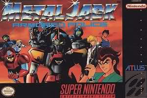 Metal Jack: Armored Police (Found 1992 English version of the Super Famicom game)