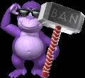 BonziWORLD Ban Hammer Sprite