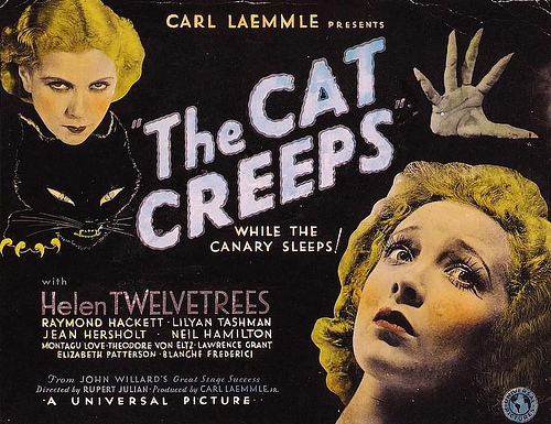 The Cat Creeps (Lost 1930 Movie)