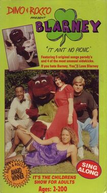 The Official VHS cover