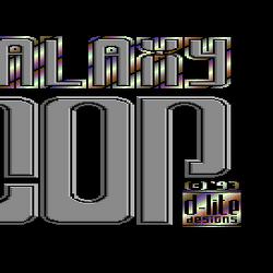 Galaxy Cop (lost Commodore 64 game)