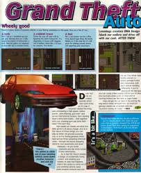 Grand Theft Auto (Cancelled Sega Saturn Port ; 1997/1998)