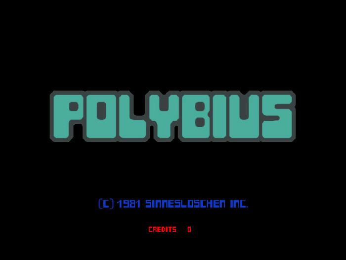 Polybius Arcade Game (Rare 80s Arcade Game)
