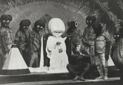 The First Men in the Moon (Lost 1919 Sci-fi Film)