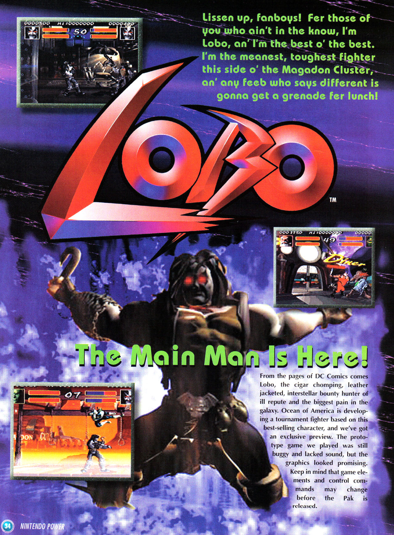 Lobo (Cancelled 1996 Video Game)